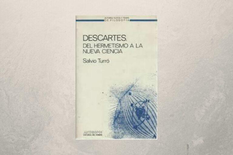 Portada de Descartes de Salvi Turró