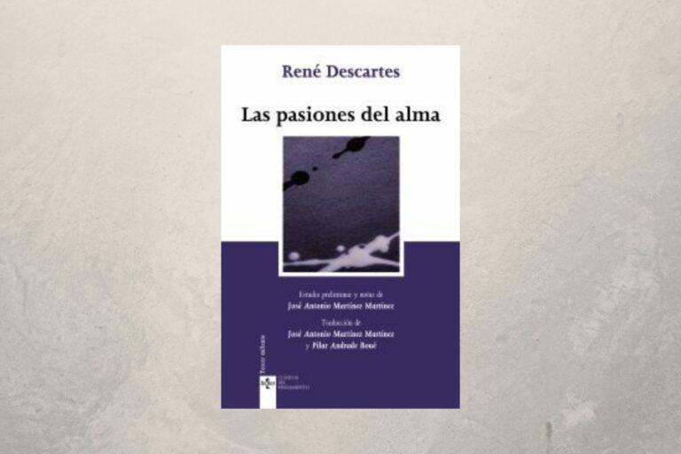 Portada de Las pasiones del alma
