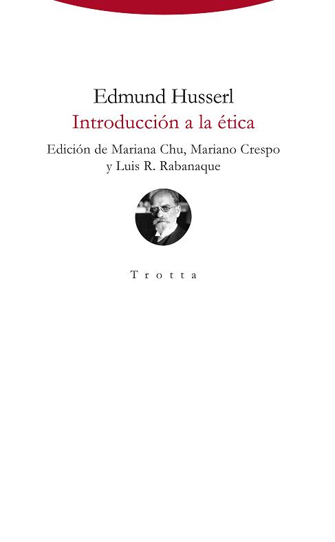 Portada de Introducción a la ética de Husserl