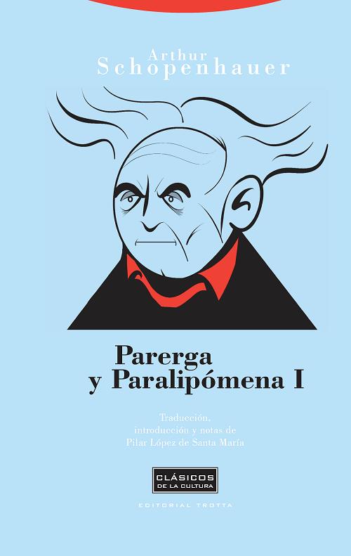 Portada Parerga y Paralipómena de Schopenhauer en Trotta