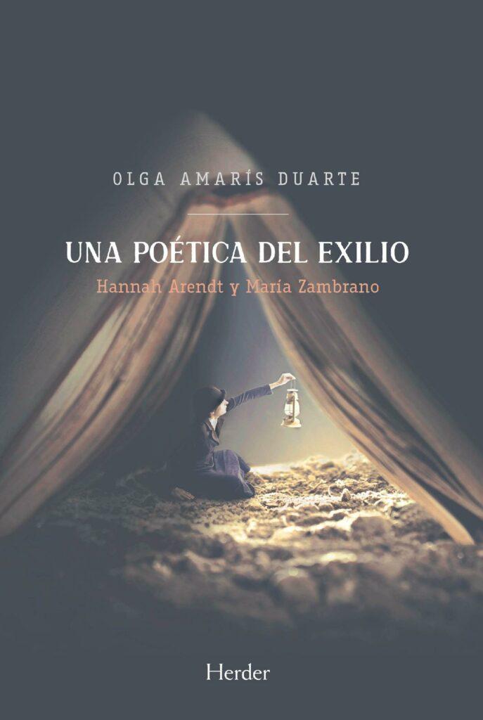 """Portada de """"Una poética del exilio"""" de Olga Amarís Duarte"""