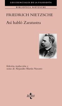 Portada Así habló Zaratustra de Nietzsche en Editorial Tecnos
