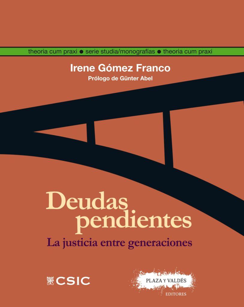 Portada de Deudas Pendientes de Irene Gómez Franco